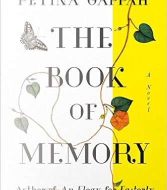 The book of memory book cover